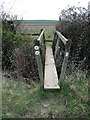 SP8226 : Bridge across a ditch by Martin Addison
