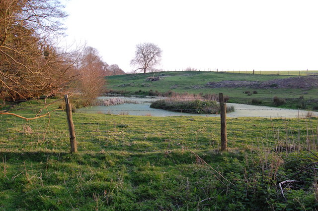 Pond near Saltwood