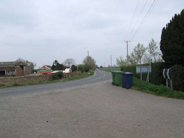 Near Thirties Farm, Binnimoor Fen, March