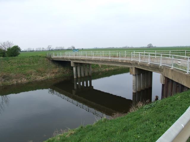 Bridge near Stonea Farm, Cambridgeshire
