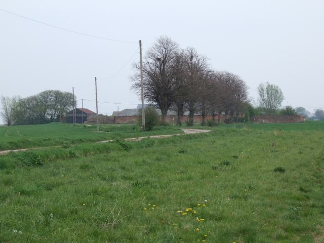 Horse Moor farm, March