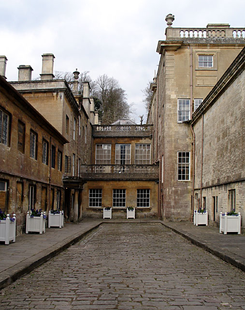 Courtyard at Dyrham House
