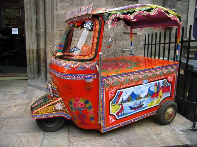 A little piece of India, Edinburgh