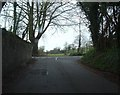 ST6559 : Road junction in the trees by Donnylad