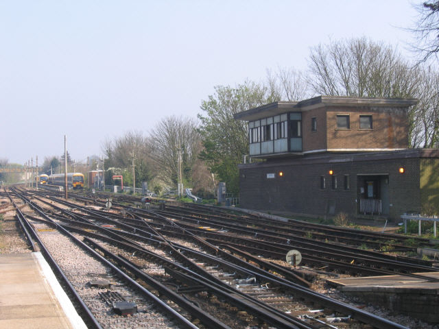 Signal box and sidings, Faversham