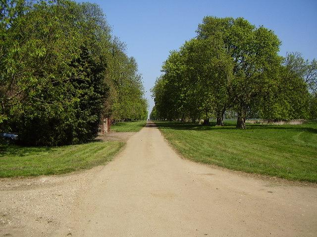 Chestnut Avenue to Grimsthorpe Castle