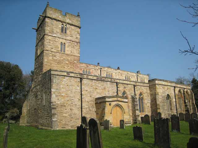 Church of St Brandon, Brancepeth