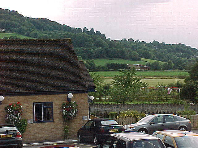 Hotel view at Little Witcombe