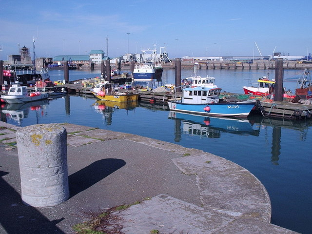 Holyhead Harbour and The Fish Dock