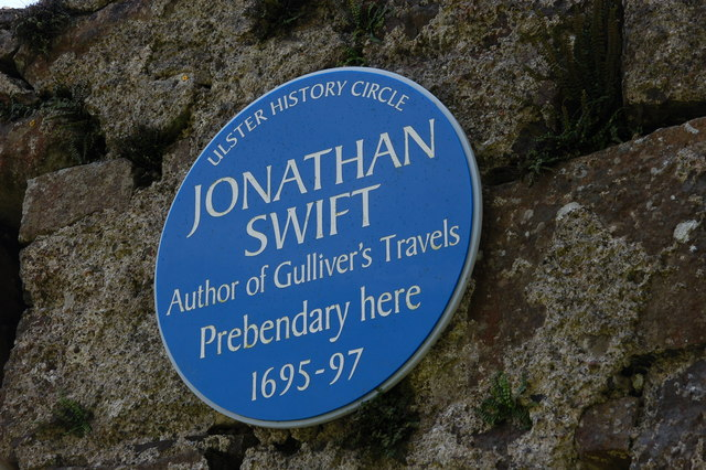 Jonathan Swift plaque, Ballynure