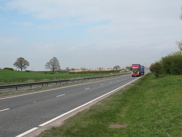 A19 north of Leake