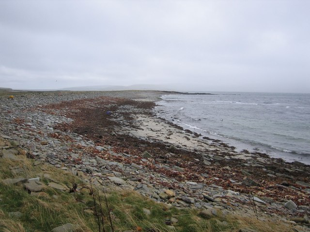 Bay of Swandro on south west Rousay