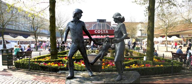 """""""Family outing"""", Solihull"""