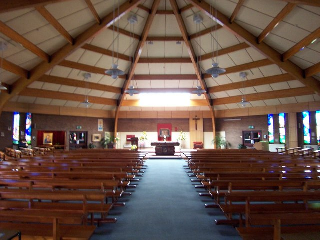 Interior of St Luke's Twinbrook.