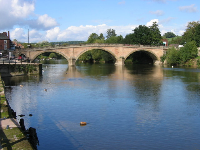 Bewdley Bridge Dominic Moore Geograph Britain And Ireland