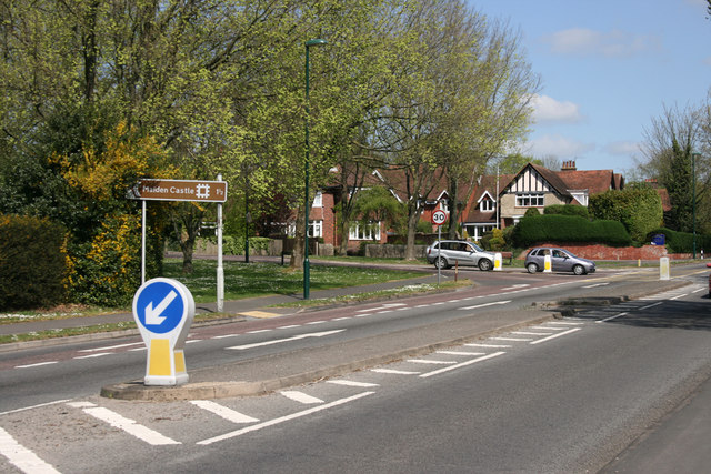 Road junction, Weymouth Road