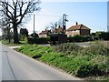 TG3325 : Houses on the W side of The Street, Dilham by Nick Smith