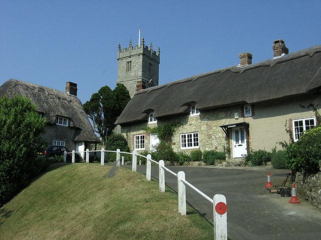 Godshill Village and Church