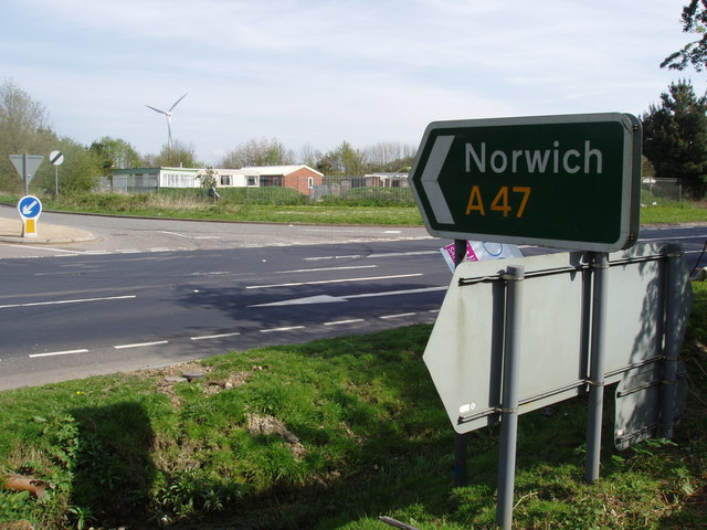 Norwich this way!