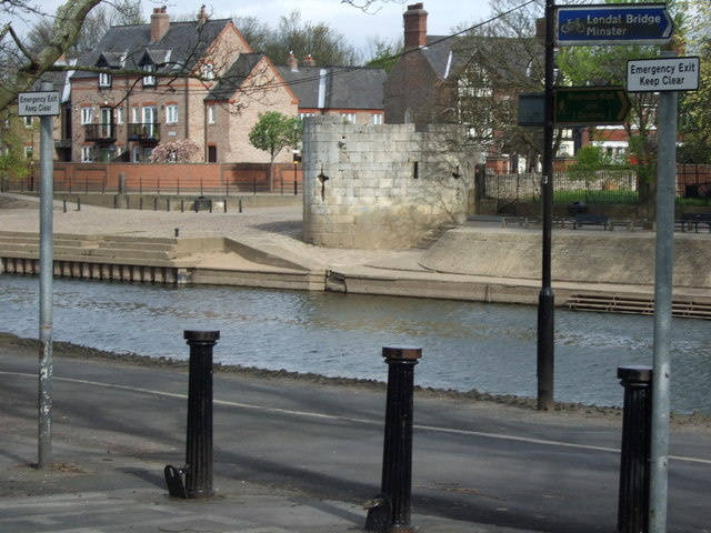 Roman Tower by the River Ouse