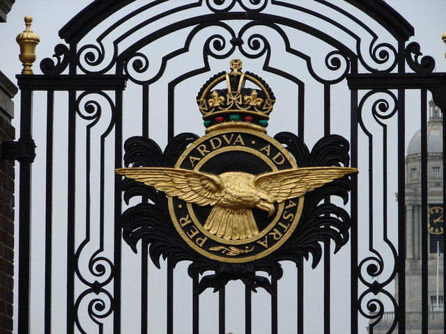 RAF Coat of Arms at RAF College Cranwell