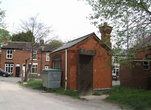 Railway building at Tettenhall Station