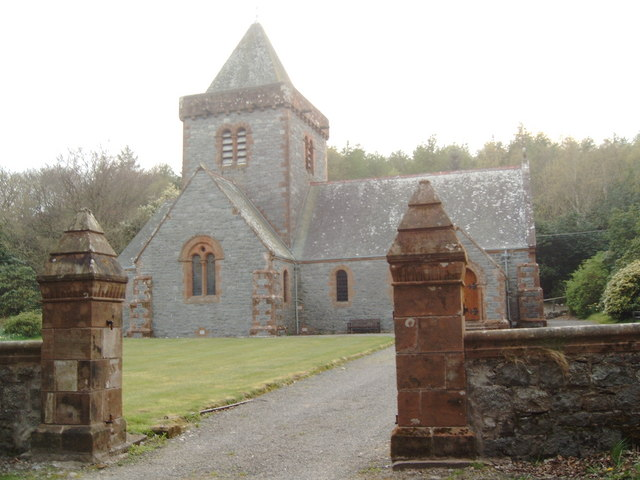 Southwick Parish Church at Caulkerbush