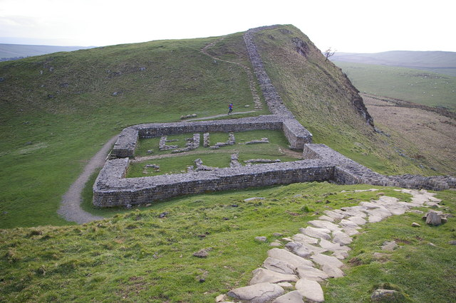 39 Best Images About South Pacific On Pinterest: Milecastle 39, Hadrian's Wall © Phil Champion :: Geograph