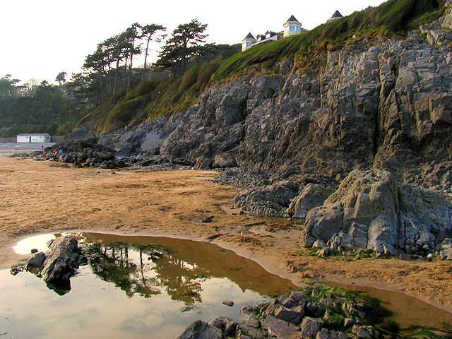 Reflections on Caswell Beach