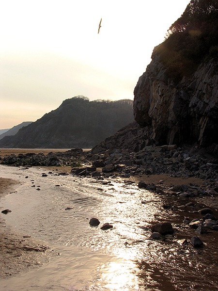 Late afternoon at Caswell Beach