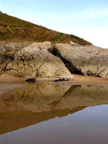 Rocks at Caswell Beach