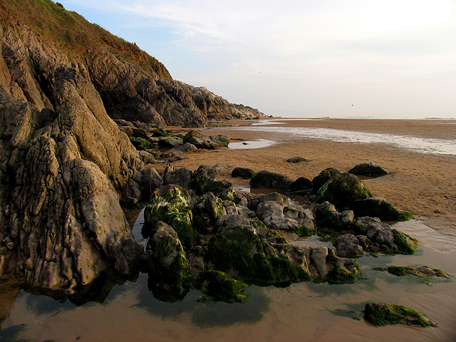 Cliffs at Caswell