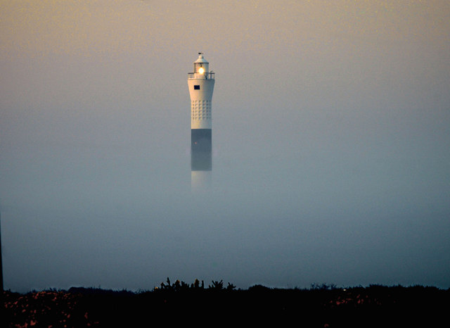 The New Lighthouse at Dungeness