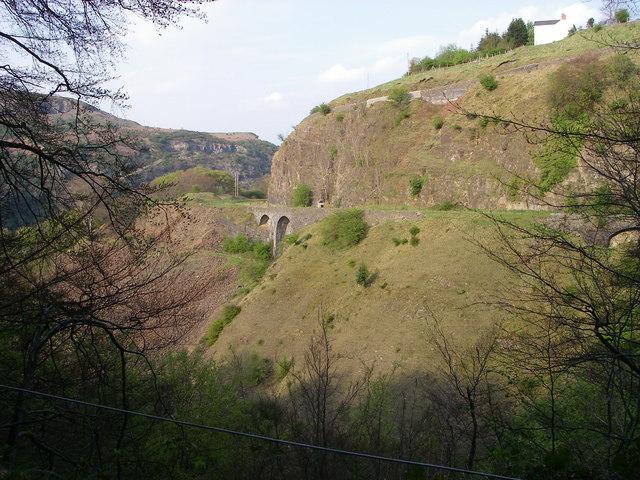 Clydach Gorge railway