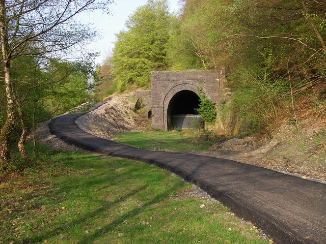 NCN46 and the Clydach Tunnels