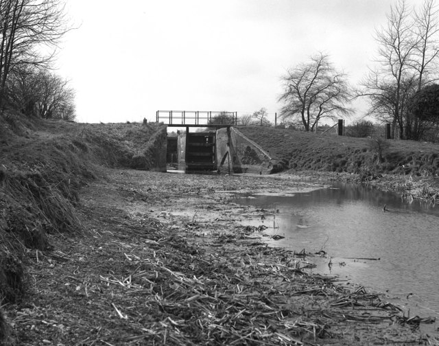 Burnt Mill Lock No 65, Kennet and Avon Canal