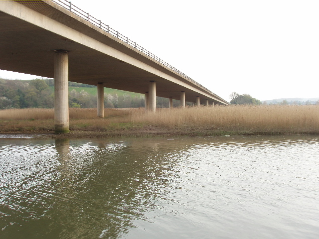 A380 bridge over the Teign