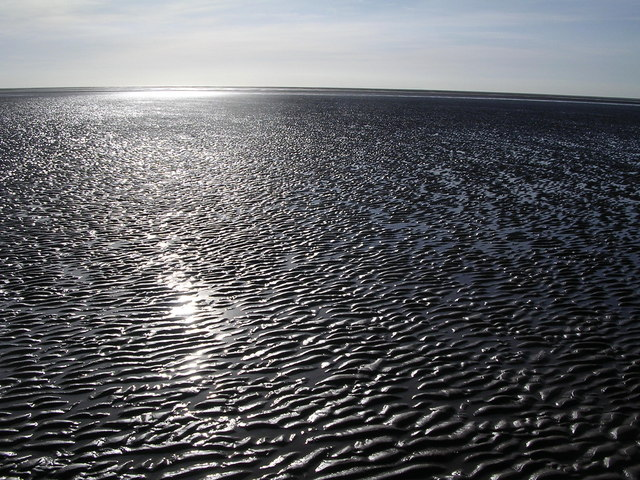 Duddon Mudflats near Lowsy Point