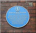 SE2934 : Blue Plaque on wall of Claremont - Clarendon Road by Betty Longbottom