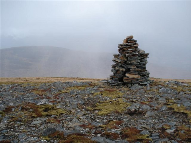 Summit of Aonach Shasuinn