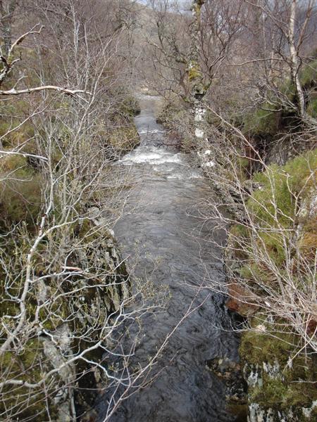 Gorge in Gleann na Ciche
