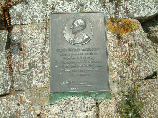 Marconi Commemorative Plaque