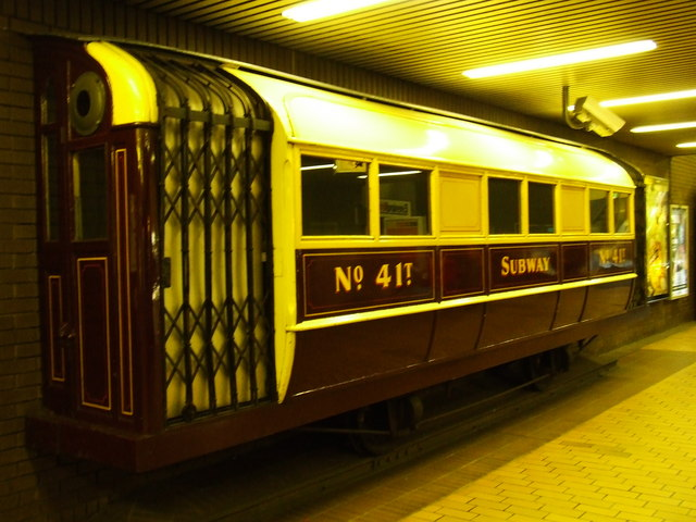 Subway car No 41T