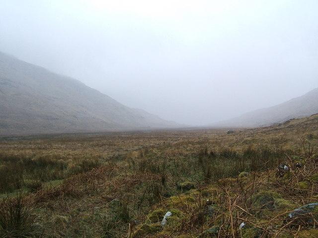 Clouds in Glen Moidart