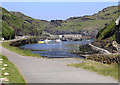 SX0991 : Boscastle Harbour by Christina Burford