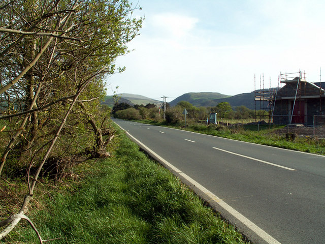 The Clannagh Road between Sandygate and Sulby