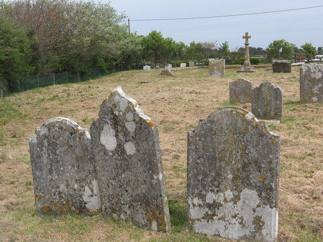 Hordle Parish Church - the original site