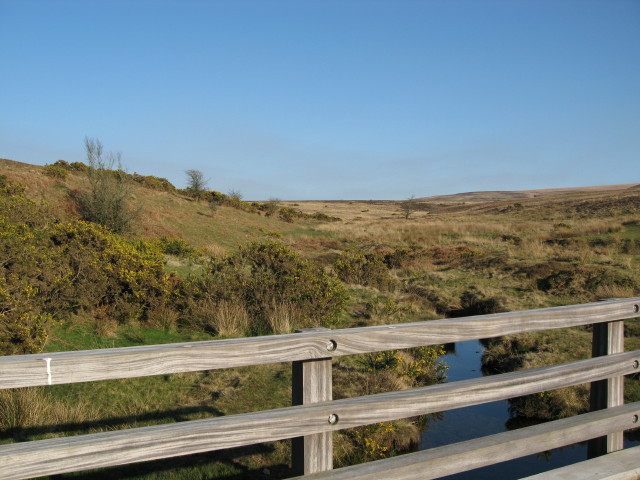 Bridge over Barbrook on Exmoor
