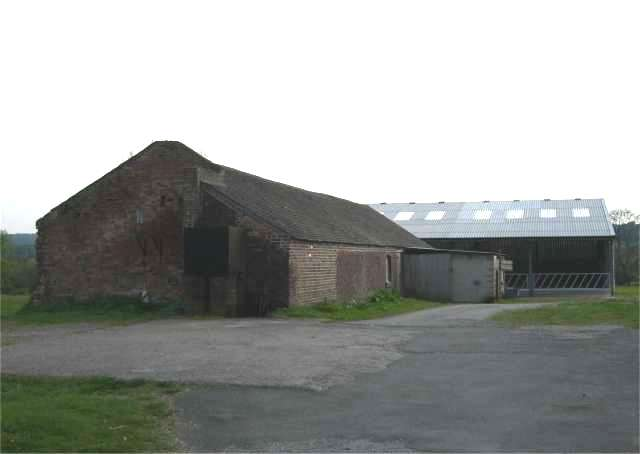 Farm Buildings near A500