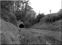 SU2363 : East Portal of Bruce Tunnel, Kennet and Avon Canal by Dr Neil Clifton
